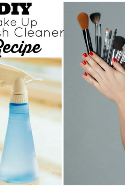 DIY brush cleaner