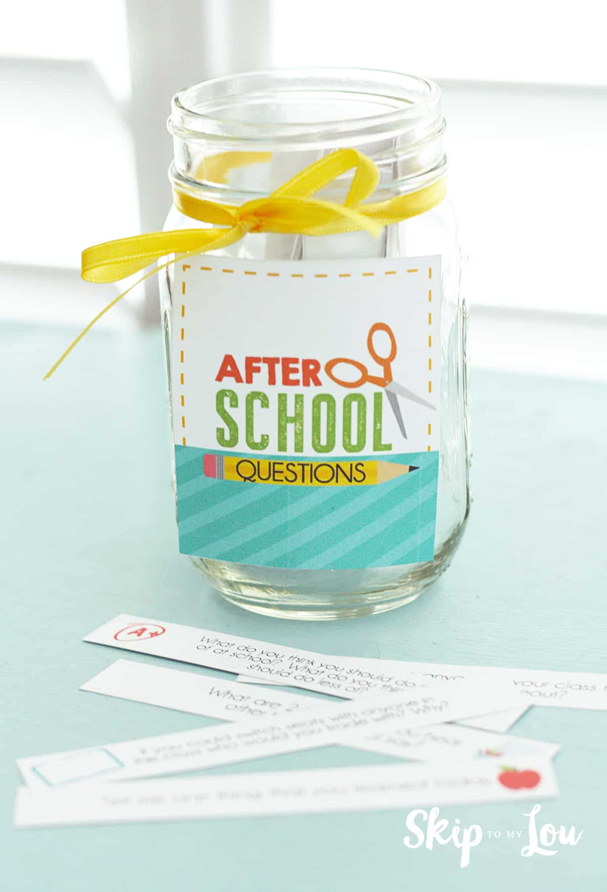 after school conversation starters printable