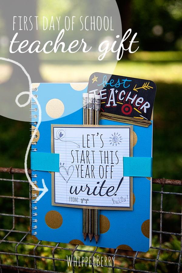 notebook teacher gift