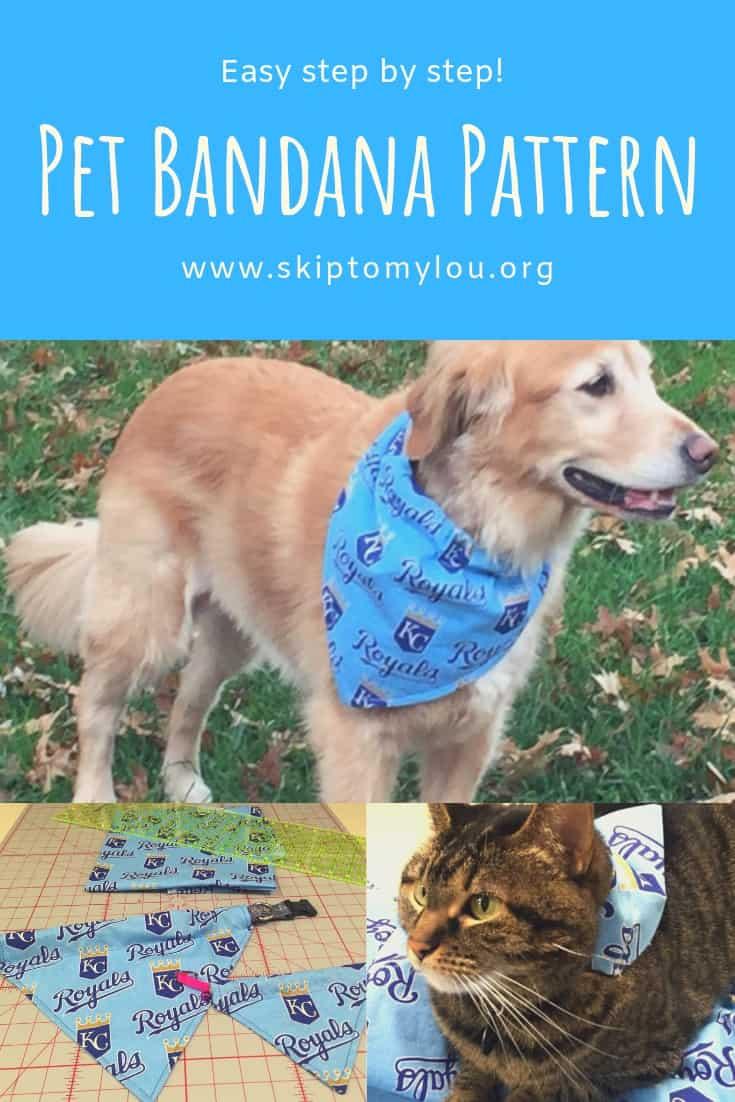 Pet Bandana Pinterest Graphic