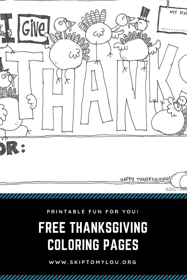 These darling Thanksgiving coloring pages will keep kids busy and entertained at your Thanksgiving dinner. Coloring pages for kids are a great way to make sure they have fun at your gathering. #Thanksgiving #Printables #ColoringPages