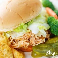 buffalo chicken sandwich on plate