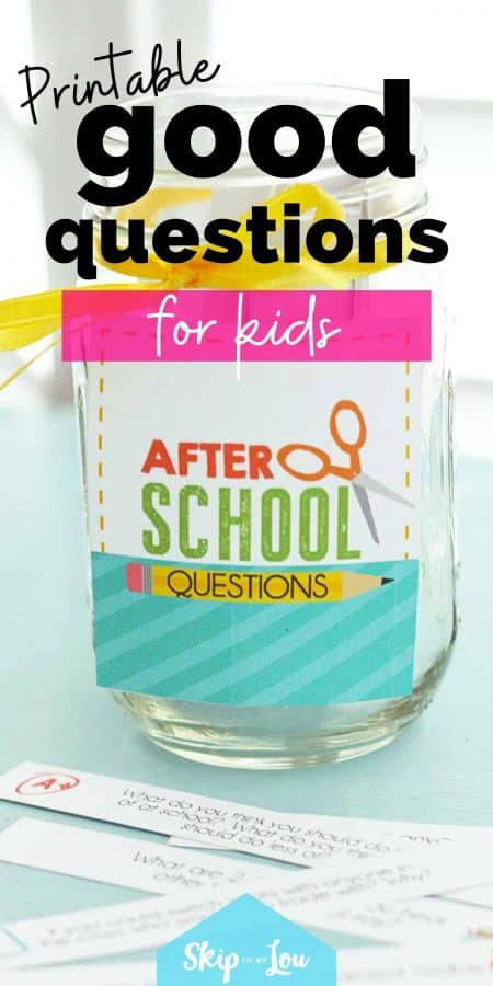 printable questions for kids PIN