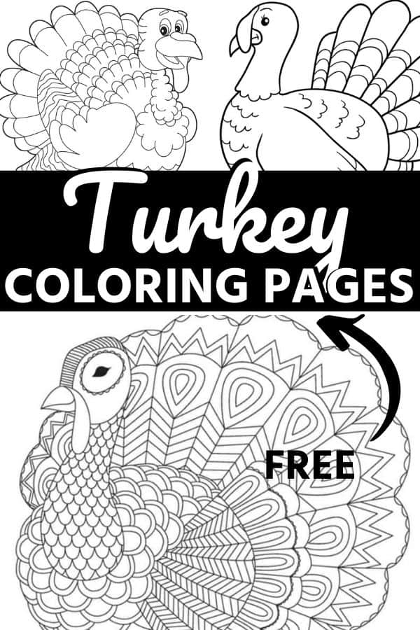 - The CUTEST Free Turkey Coloring Pages Skip To My Lou