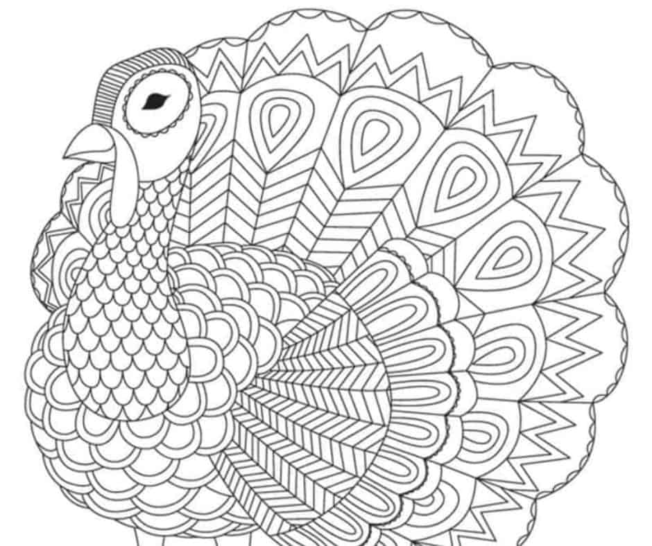 Simple Thanksgiving Coloring Pages - GetColoringPages.com | 788x940