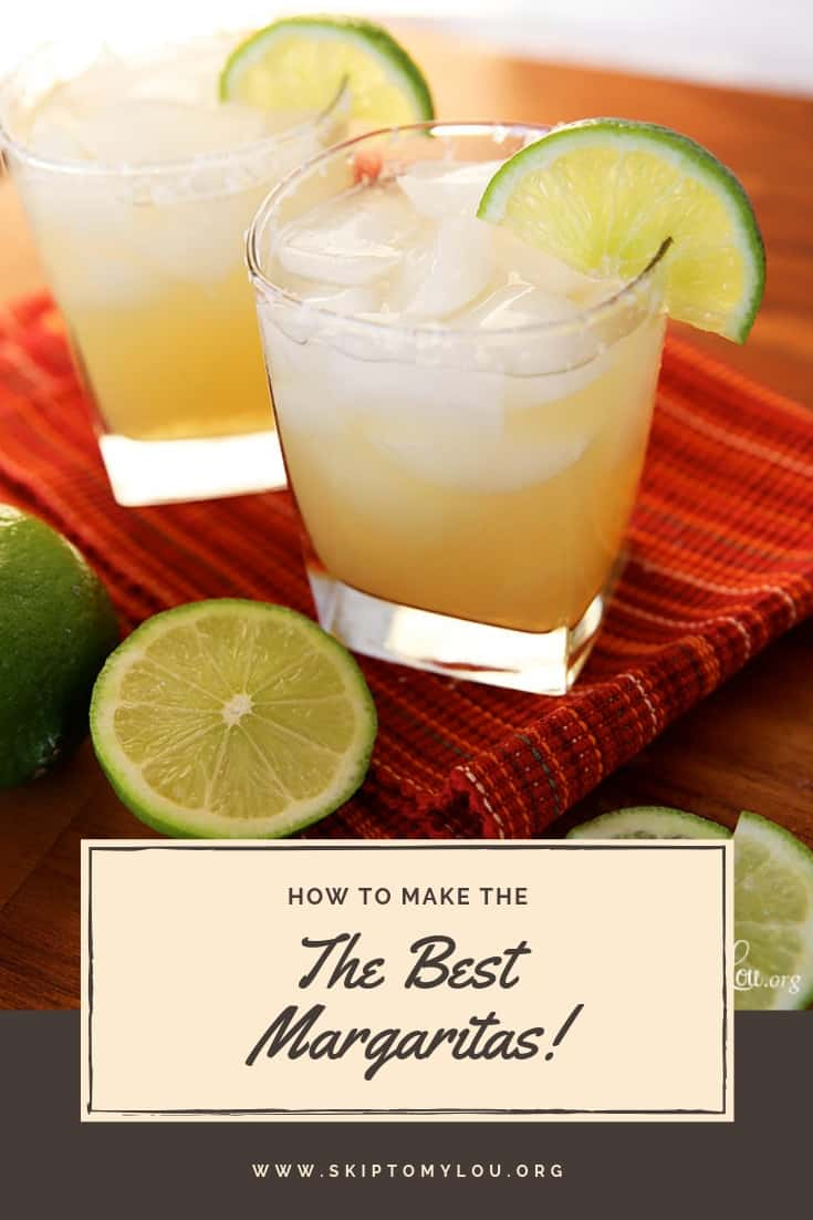 Best Margaritas Pinterest Graphic