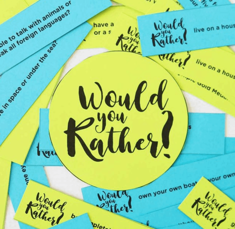 The BEST Would You Rather Questions For Kids