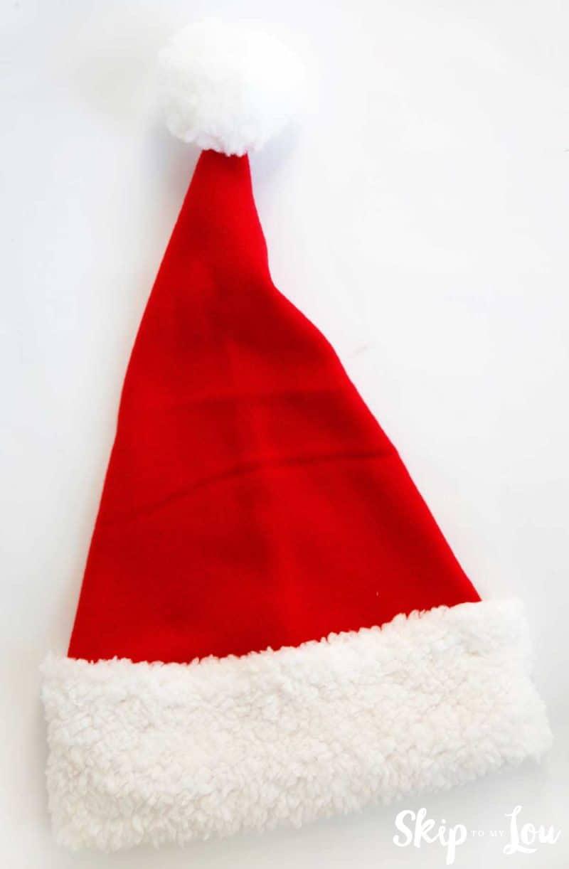 Finished Santa Hat