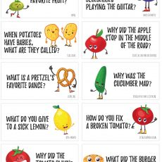 printable food jokes