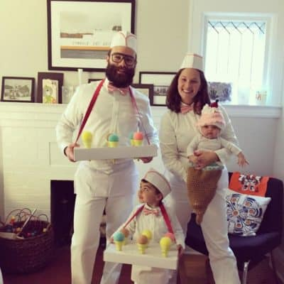 family of four costume