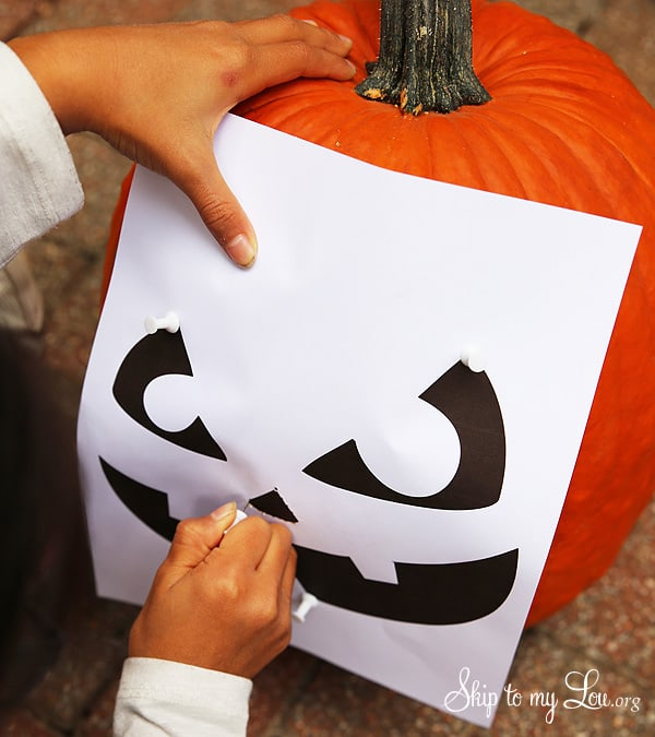 pumpkin carving template