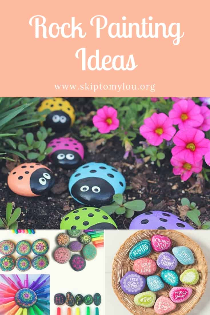 Rock Painting Ideas You Won't Believe! So Cool! #painting #crafts #kindnessrocks