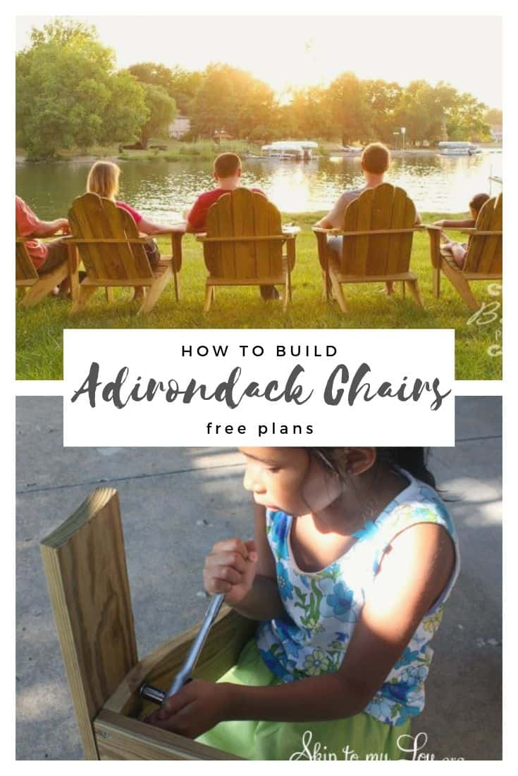 adirondack chair how to