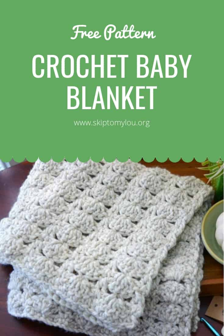 Chunky Crochet Baby Blanket Updated Skip To My Lou