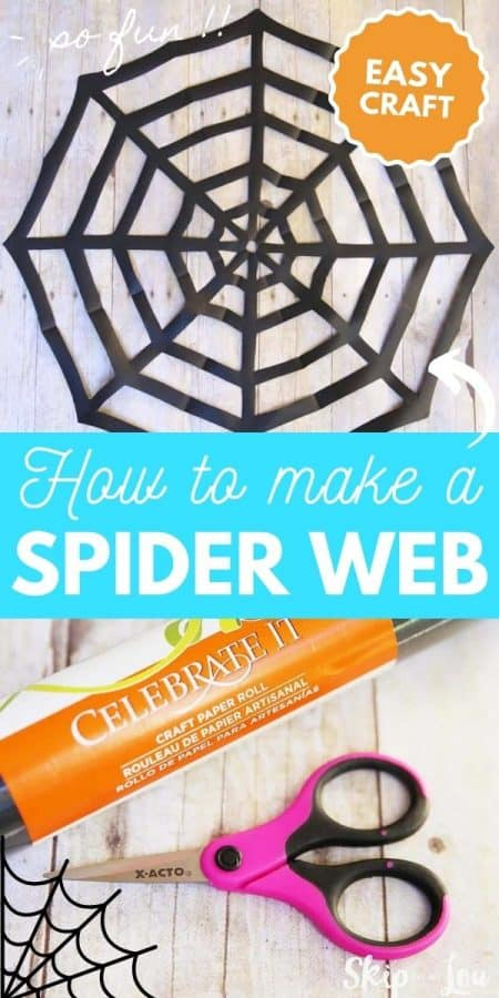 how to make a spider web PIN