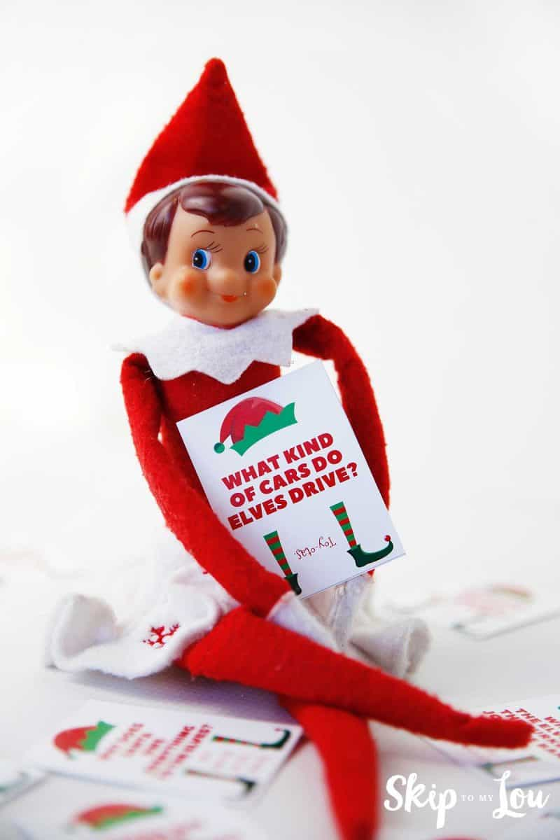 Funny Elf Jokes For The Elf On The Shelf | Skip To My Lou