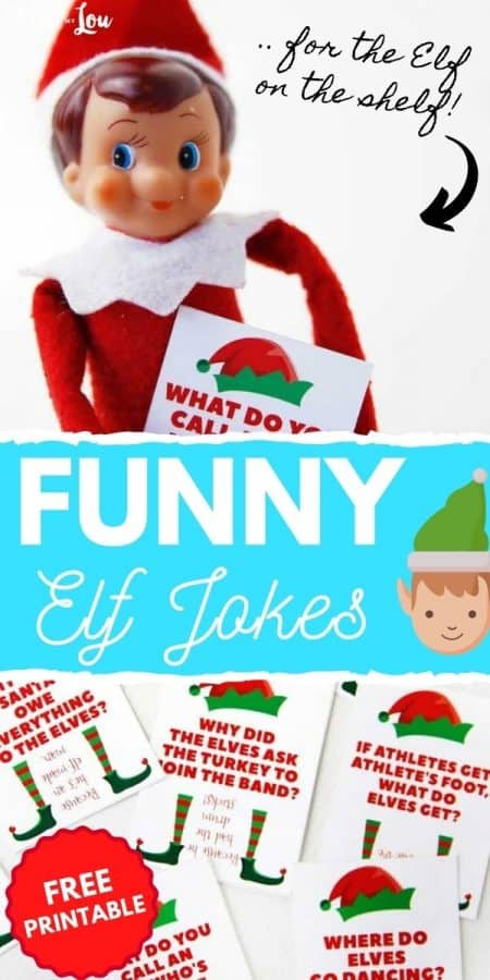 funny elf jokes PIN