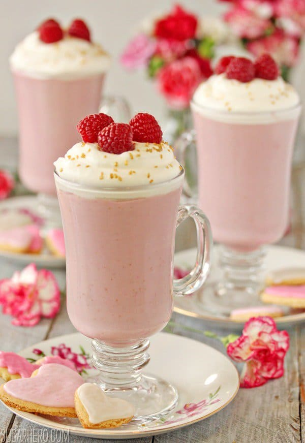 raspberry white chocolate