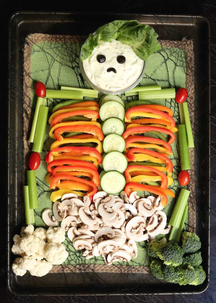 veggies that look like skeleton
