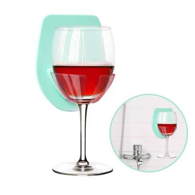 white elephant wine holder