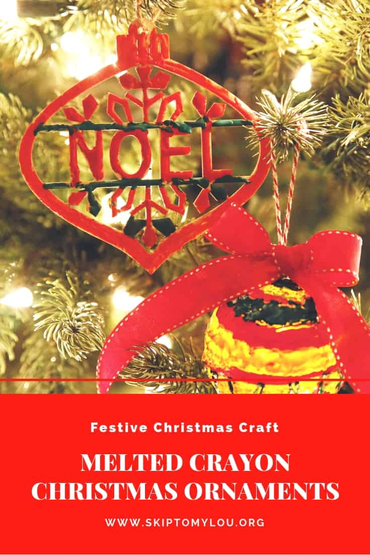 melted crayon christmas ornaments Pinterest Graphic