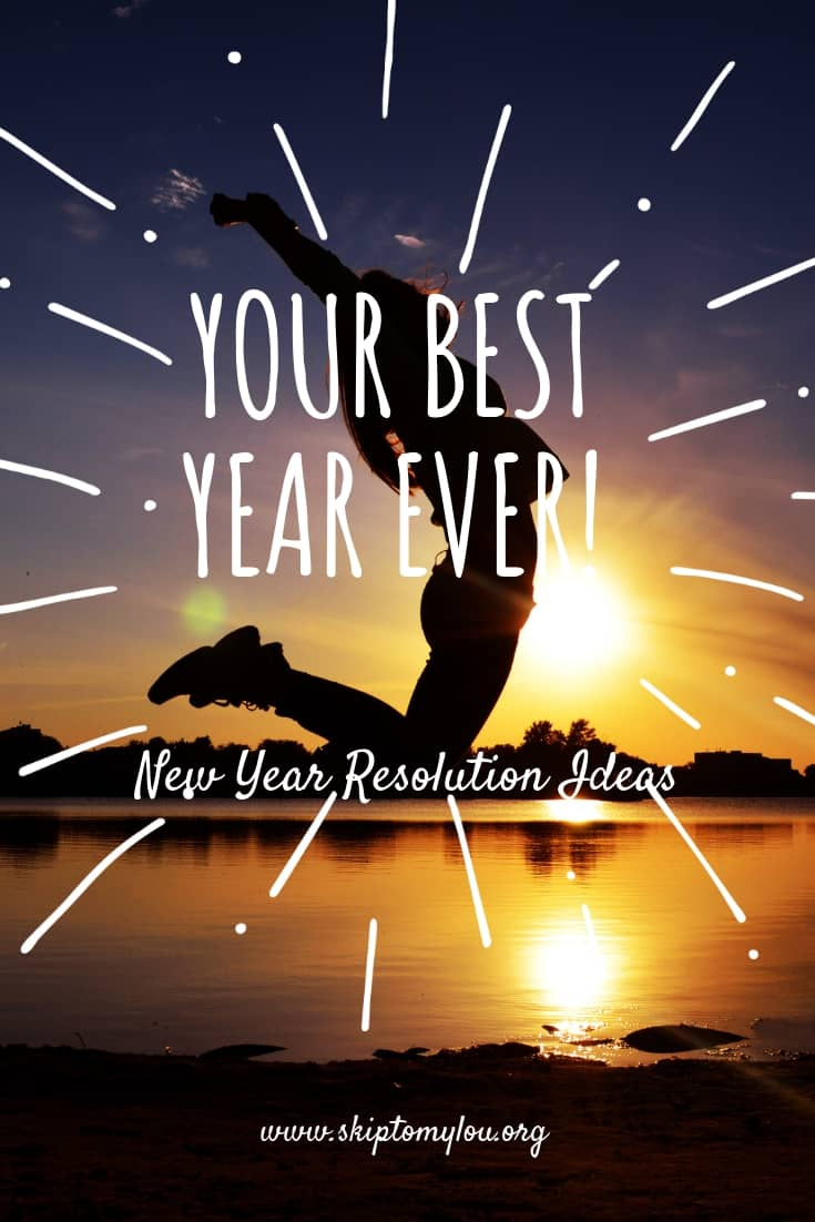 A fresh new year always has me wanting to change things. I love setting goals and getting myself motivated to improve. These New Year Resolution Ideas are full of tips, tricks and ideas that you can use to help kick start your goal making, there is still time to get it started.  #newyear