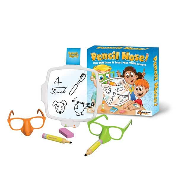 pencil nose family game