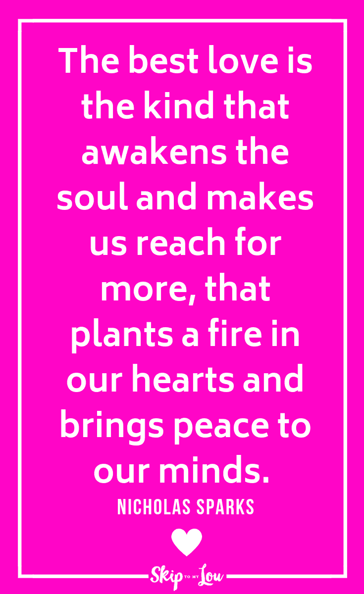 Sparks love quote