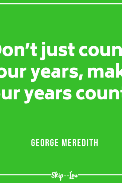 George Meredith quote