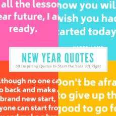 New Year Quotes Pinterest Graphic