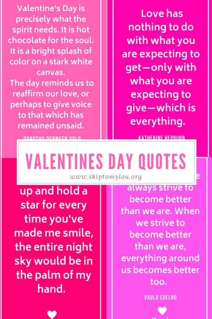 30 Valentines Day Quotes To Share With Those You Love Skip To My Lou