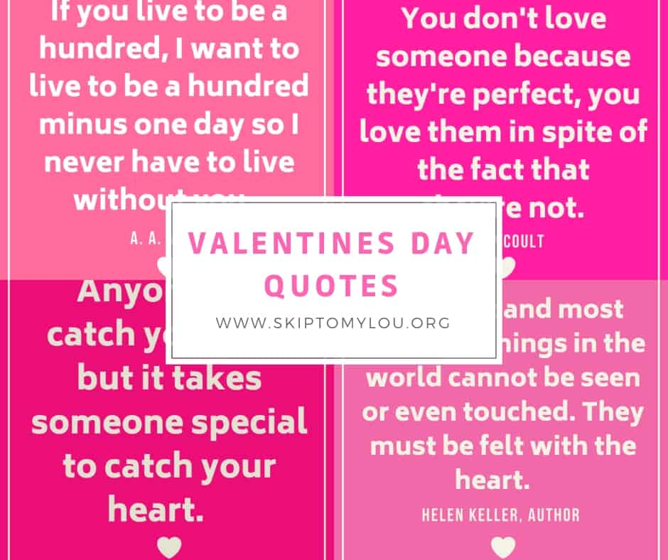Free Printable Valentine S Quote: 30 Valentines Day Quotes To Share With Those You Love