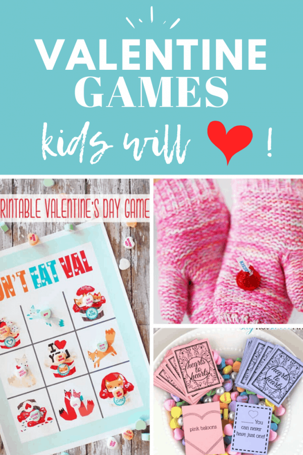 valentines day games for kids PIN