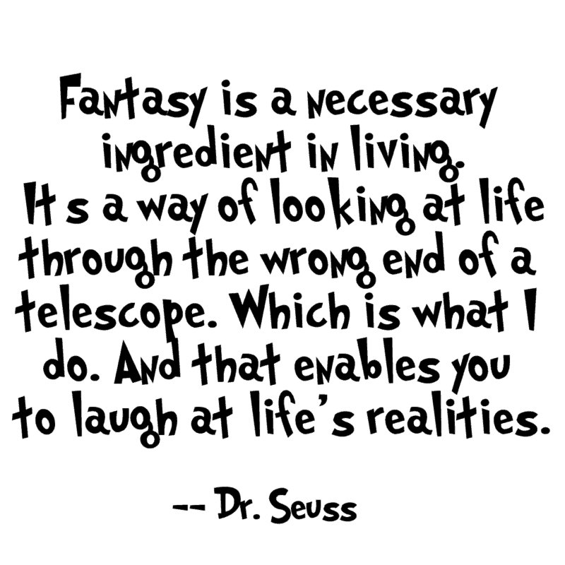 printable Dr Seuss quote