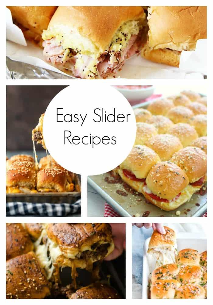 easy slider recipes