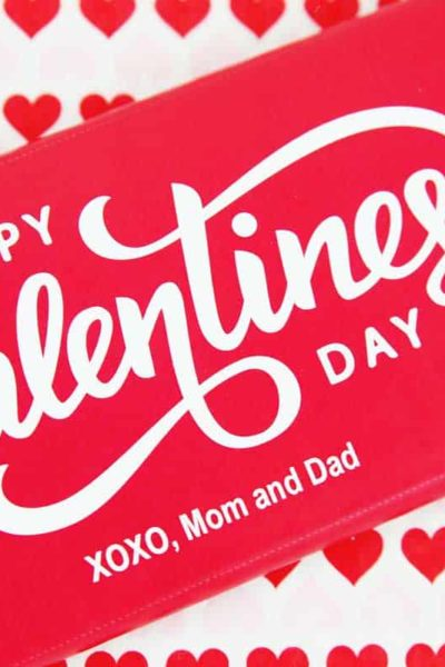 personalized Valentine Candy Bar wrapper