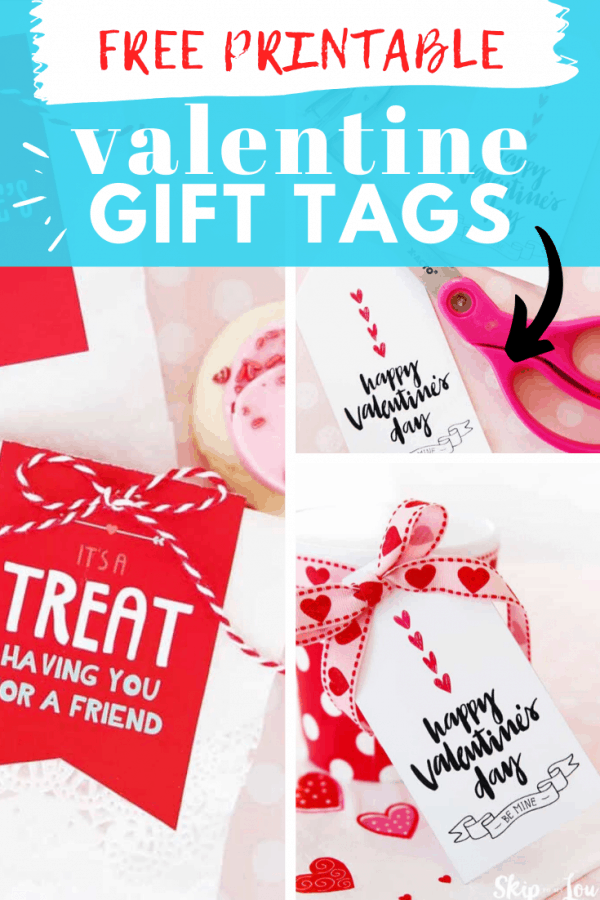 free valentine gift tags PIN
