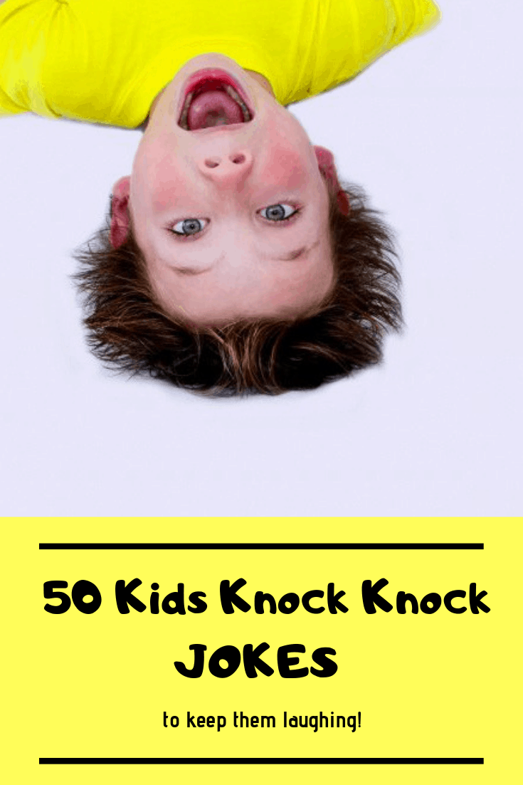 You are going to love these Knock knock jokes for kids.  They are perfect to pull up on your phone to share some giggles with kids. They will think you are so cool with these funny knock knock jokes! #jokes #kids