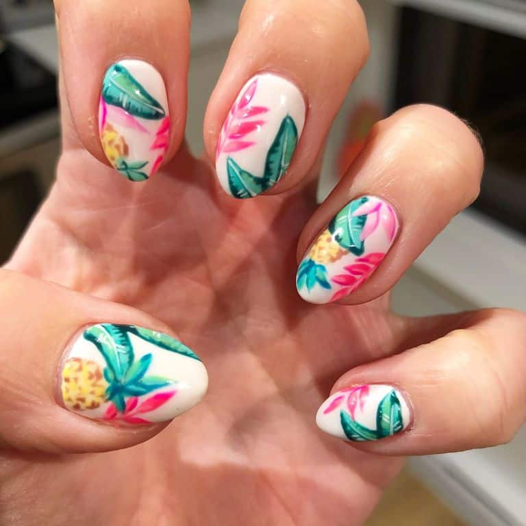 Wedding Nail Ideas For Summer: Have Cute Summer Nail Designs For Summer With These Tutorials