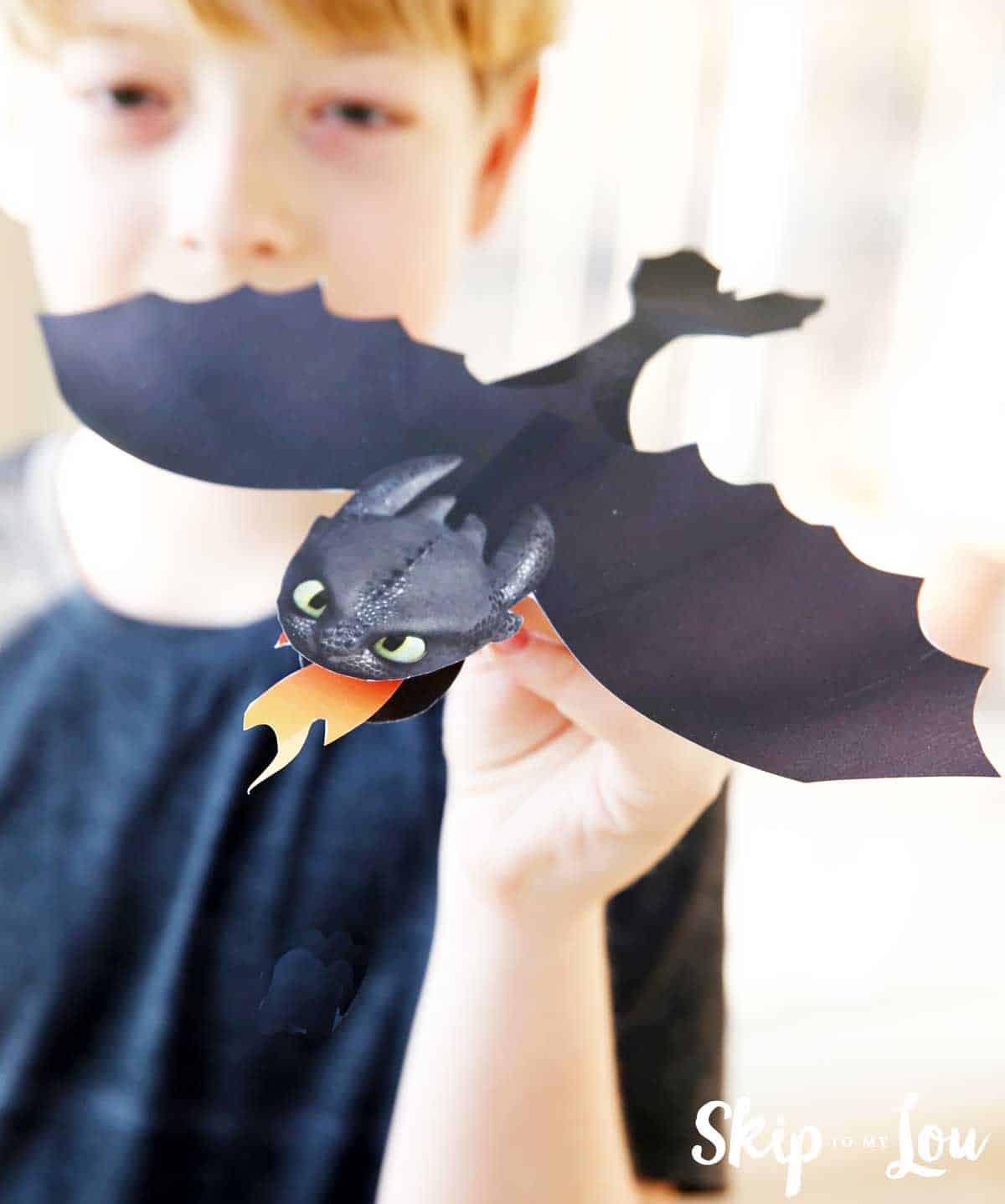 Printable Toothless Dragon Craft Skip To My Lou
