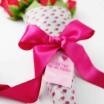 valentine flower wrap