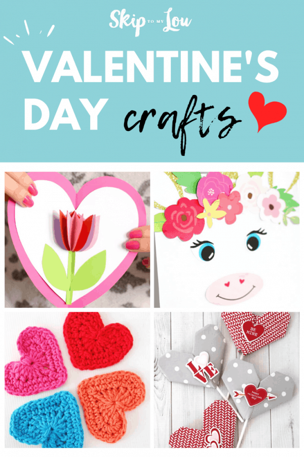 valentines day crafts PIN