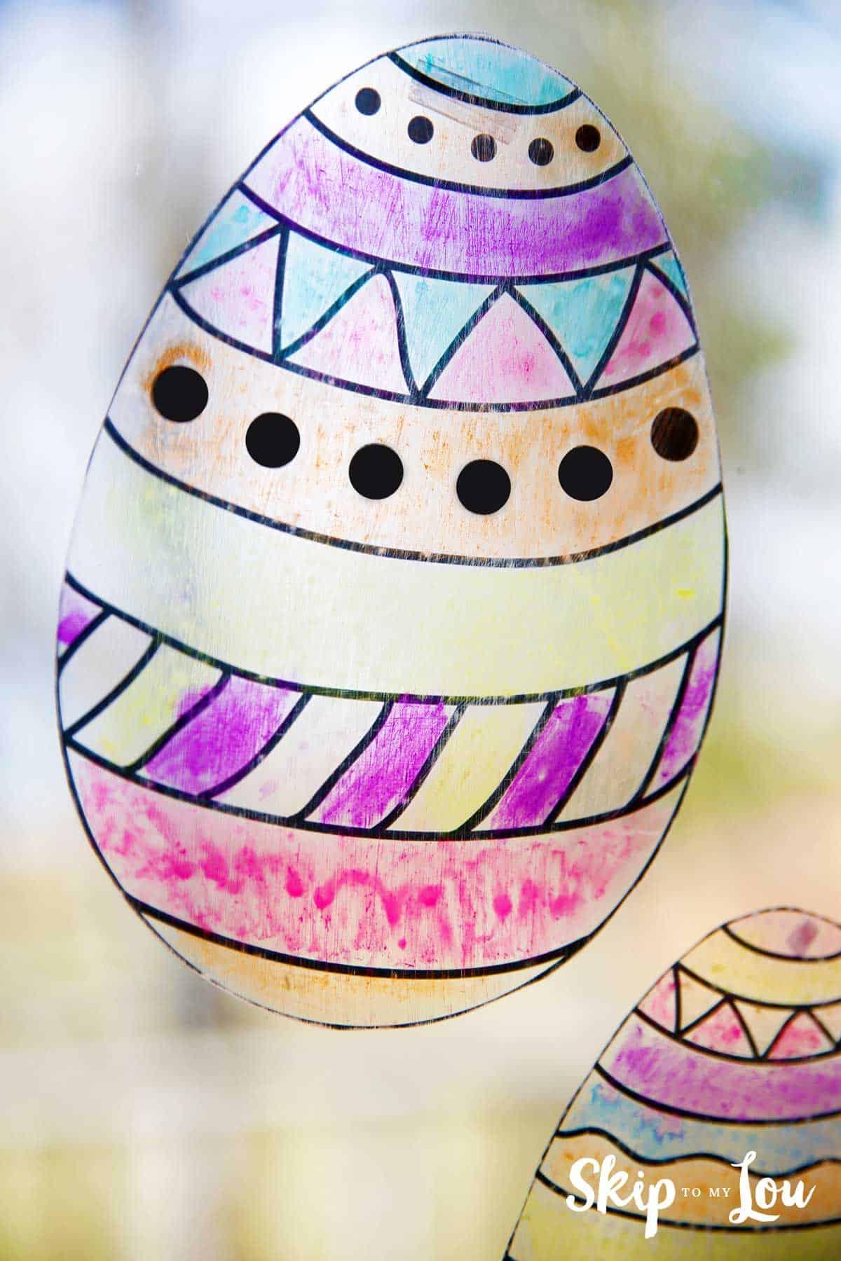 Easter Egg Suncatcher Skip To My Lou