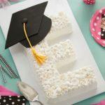 letter grad cake