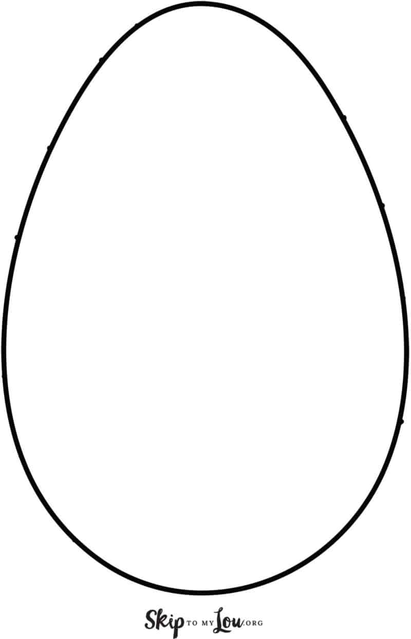 Large plain egg