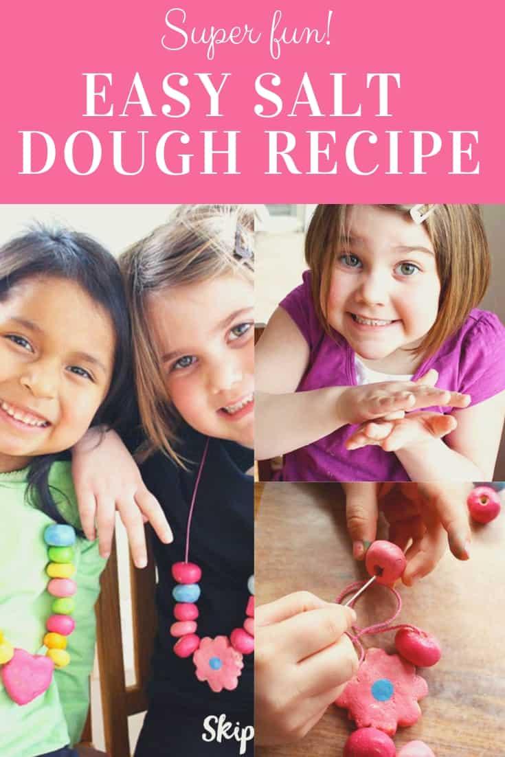 Salt Dough Recipe Pinterest Graphic