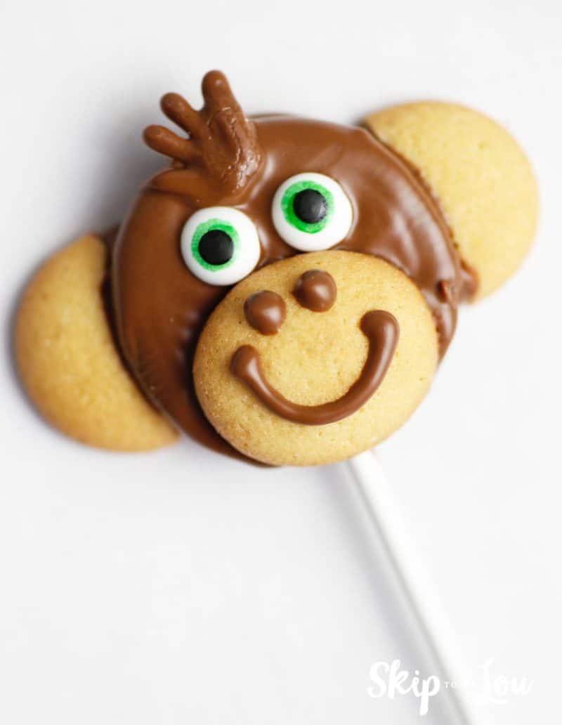 monkey cookie pop peanut from Wonder Park