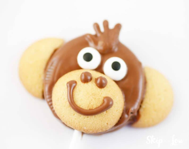 monkey cookie pop