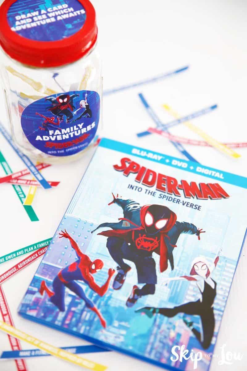 spider-verse DVD