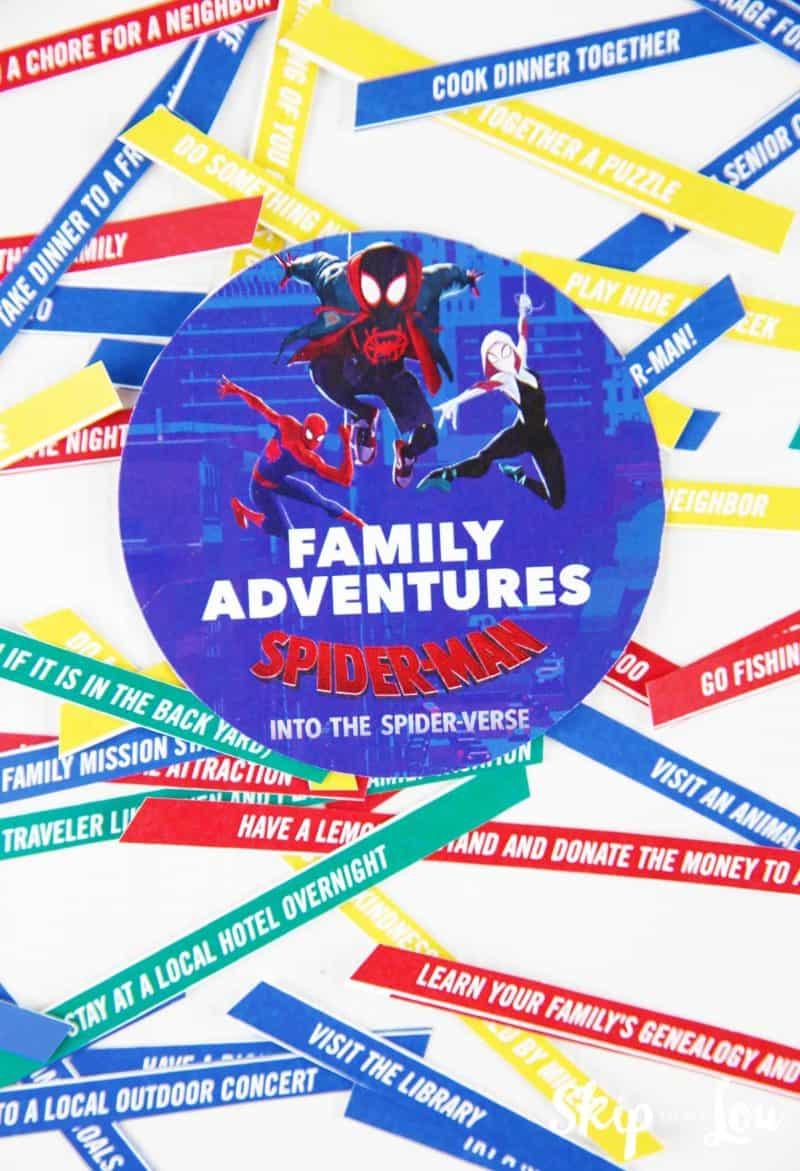 family adventure slips of paper